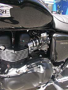 ボンネビルブラック08モデル